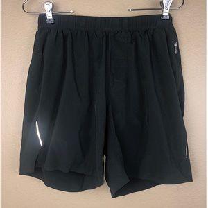 LULULEMON | Women's Size M Black Reflective Short